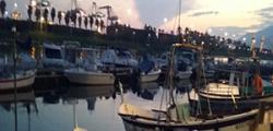 fit tra le barche